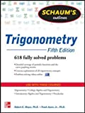 Schaum's Outline of Trigonometry, 5th Edition (Schaum's Outlines)