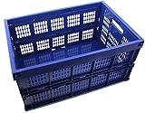 Klappbox Transportkasten blau klappbar