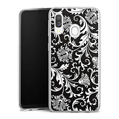 DeinDesign Silikon Hülle kompatibel mit Samsung Galaxy A40 Case Schutzhülle Ornamente Mandala Pattern