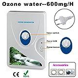 Evaky 600mg Ozone Generator Air Purifier Ozonizer Ozonizador Ozone Ozono Portable Oxygen Concentrator