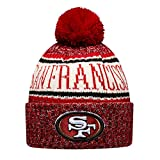 New Era ONF18 Sport Knit Bommelmütze SAN Francisco 49ERS Rot, Size:ONE Size