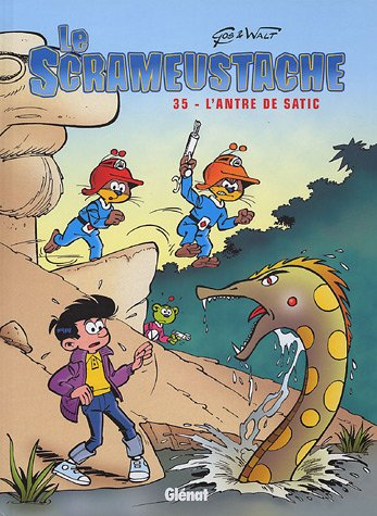 Le Scrameustache, Tome 35 : L'antre de Satic par Gos