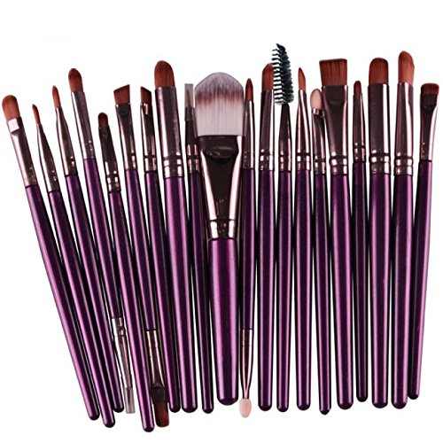 Elsta 20 Stück Make-up Pinsel einstellen Werkzeuge Augenpinsel Foundation pinsel Lidschatten Pinsel...