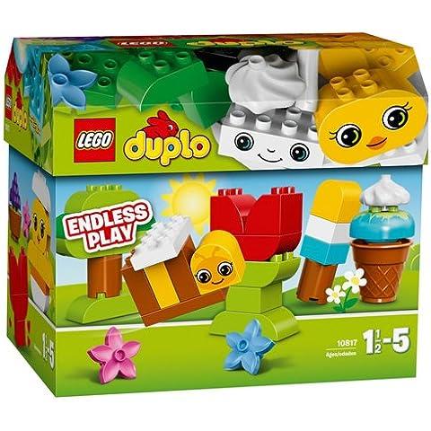 LEGO DUPLO Baúl creativo - juegos de construcción (Multi)