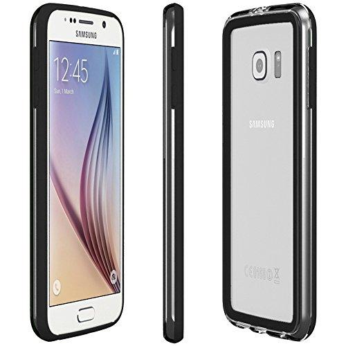 Samsung Galaxy S4 / S4 Neo Hülle - EAZY CASE Premium Bumper Handyhülle aus Silikon - Ultra Slim Schutzhülle für das Smartphone in Schwarz Schwarz