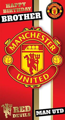 2497984cb Manchester United F.C. Mu051 prédécoupé carte Crest carte d anniversaire