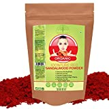 #7: Hollywood Secrets 100% Pure Red Sandalwood Powder Lal Chandan For Face Skin 100gm
