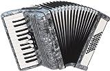 Weltmeister Piano Akkordeon Perle schwarz