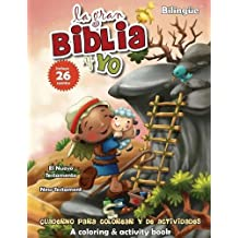Nuevo Testamento - Cuaderno para colorear y de actividades (Bilingüe): New Testament Coloring and Activity Book (Bilingual) (La gran Biblia y yo)