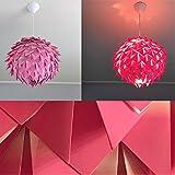 Pink Harlekin, Lampe Leuchte Lampenschirm Pendelleuchte Pendellampe Hängeleuchte Hängelampe Papierleuchte Papierlampe Reispapierlampe Designerlampe Wohnzimmerlampe Schlafzimmerlampe Deckenlampe
