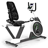 Tunturi Go 50 Recumbent Exercise Bike - Grey/Green, One Size