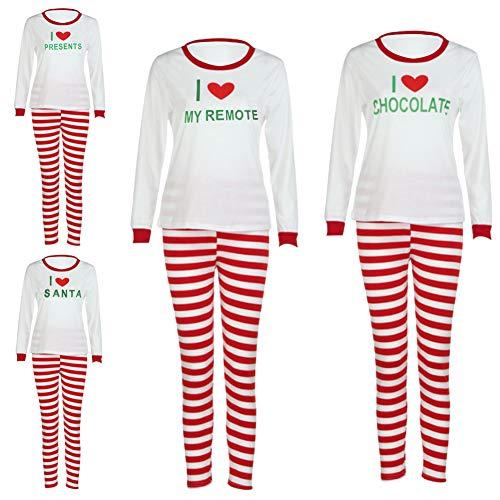 Passende Familie Weihnachten Pyjama Set Weihnachten 2 Stück Mama Papa Baby Kind Schlafanzug Mode Homewear