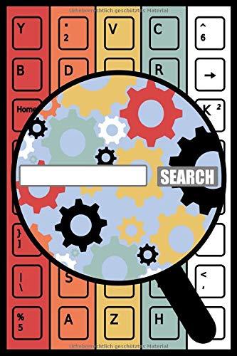 Notizbuch Arbeitsbuch Online Marketing A5 120 Seiten kariert: Schreibblock Online Manager Suchmaschine Keywords Seo Task  Recherche Geschenk Business Geschäftlich Start up