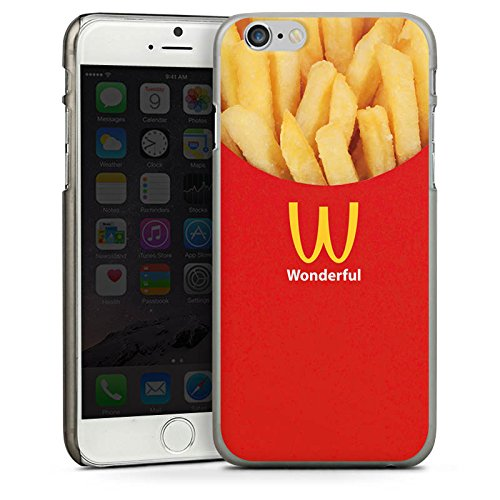 Apple iPhone 5s Housse Outdoor Étui militaire Coque Pommes Fast Food Frites CasDur anthracite clair