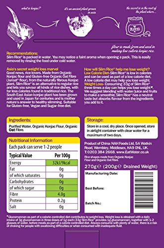 Eat Water Slim Rice 270g (Pack of 5)