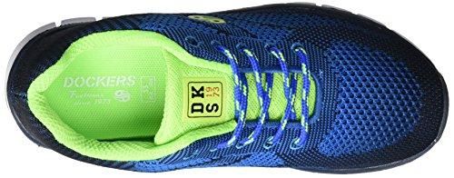 Dockers by Gerli Unisex-Kinder 38sb623-700636 Low-Top Blau (Royal/Blau 636)