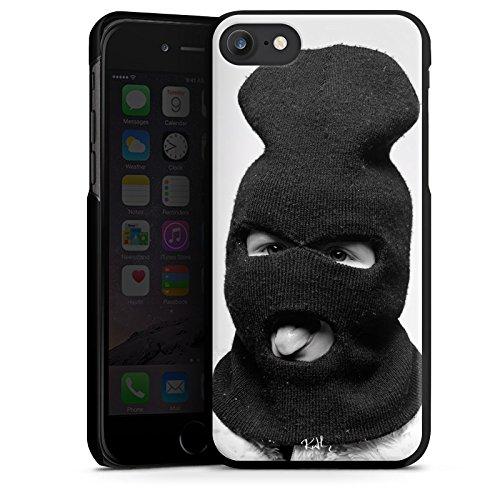 Apple iPhone X Silikon Hülle Case Schutzhülle Oliver Rath Maske Hipster Hard Case schwarz