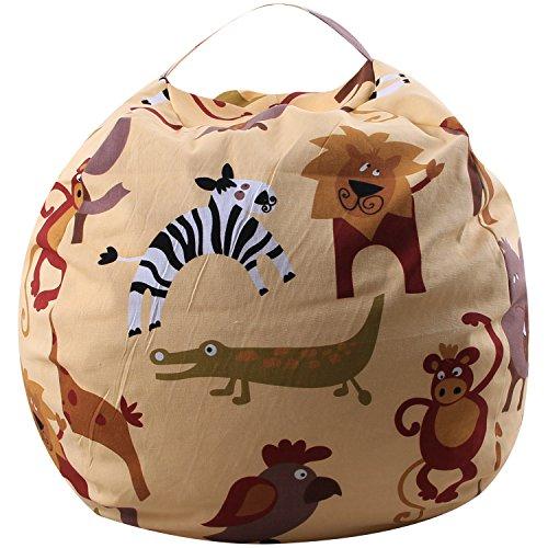 MKHDD Kreative Moderne Lagerung Gefüllte Tier Lagerung Sitzsack Tragbare Kinder Spielzeug...