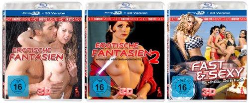 Erotik Super Set 2 - Real 3D Edition (3 3D-Blu-rays mit vielen sexy Girls)