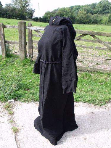 schwarz-baumwolle-hss-bademantel-mit-kapuze-pullover-grosse-erwachsene-gr-pagan-jedi-wizard-larp