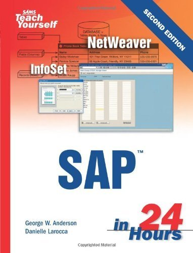Sams Teach Yourself SAP in 24 Hours by George Anderson (2005-11-07)