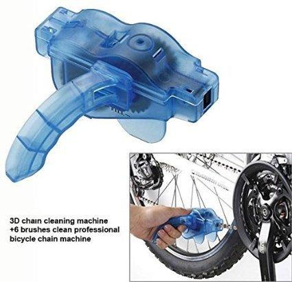 cm5.2Cyclone Kette Scrubber & # xff0b; 2x Fahrrad Roller Bike Kette Gear Reiniger Waschmaschine reinigen Scrubber Pinsel Kette Reinigung Werkzeug -