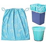 3Pcs wasserdichte Wet Bag, wiederverwendbare Large Capacity Washable Windel Pail Liners, Wäscherei Küche Müll Cans Cloth Windeln
