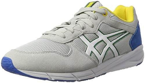 Onitsuka Tiger Shaw Runner, Sneaker Unisex - Adulto Grigio/Bianco