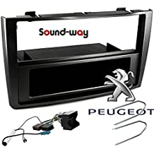 Kit de montaje marco adaptador autoradio coche Peugeot 308 / SW / CC / RCZ Coupe