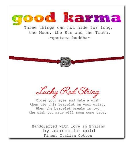 wish-bracelet-anklet-lucky-red-string-tibetan-charm-adjustable-good-karma-christmas-stocking-filler-