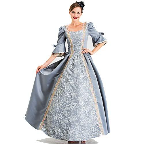 PAOFU-Frauen Mittelalterlichen Vintage Ausgestellte Ärmel Renaissance Viktorianischen Prinzessin Kleid Schickkleid Kostümfest - Viktorianischen Motto Kostüm