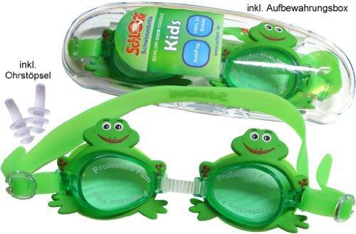 Schlori Schwimmbrille, 100% UV Schutz, AntiFog