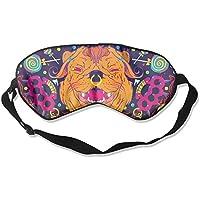 Cute Dogs Colorful Paint Sleep Eyes Masks - Comfortable Sleeping Mask Eye Cover For Travelling Night Noon Nap... preisvergleich bei billige-tabletten.eu