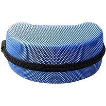 GEL5830VL–Carcasa caja con cremallera para gafas de sol/gafas/gafas de snowboard (Azul)
