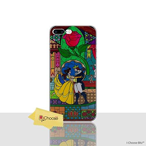 iPhone 7 Plus Die Schöne und Das Biest Rose Silikonhülle / Gel Hülle für Apple iPhone 7 Plus (5.5
