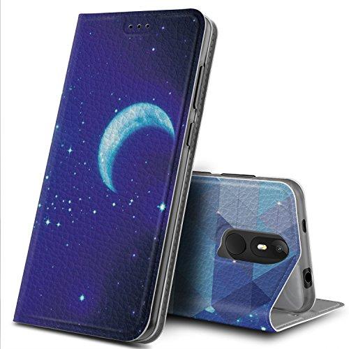 Wiko View Lite Hülle, GeeMai Premium Flip Case Tasche Cover Hüllen mit Magnetverschluss [Standfunktion] Schutzhülle Handyhülle für Wiko View Lite Smartphone, CH03
