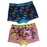 Pat patrouille – Boxer short garçon Pat Patrouille ( lot de 2 ) bleu et jaune – 2 / 3 ans ,4 / 5 ans ,6 / 8 ans