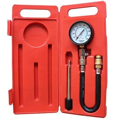 Kompressionstester von 0-20 bar oder 0-300 psi Adapter M18 x 1,5 Kompressionsprüfer KFZ