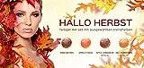 N&BF 4er Farbgel Set Hallo Herbst | 4x5 ml UV Color Gel Sparset | Colourgel in vier herbstlichen Laub-Tönen | Made in EU | Sparpaket für Gelnägel & Nail Art Design | Profi Nagelgel bunt