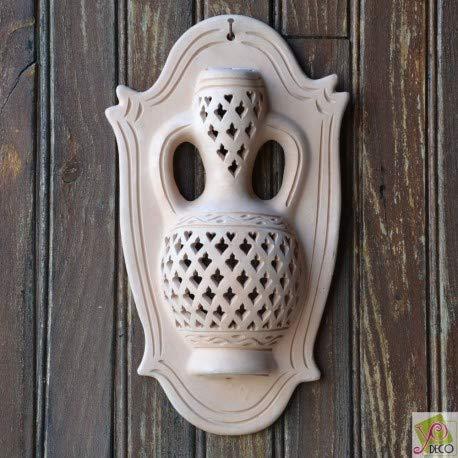 YODECO - Applique da Parete Hamadi, Terracotta