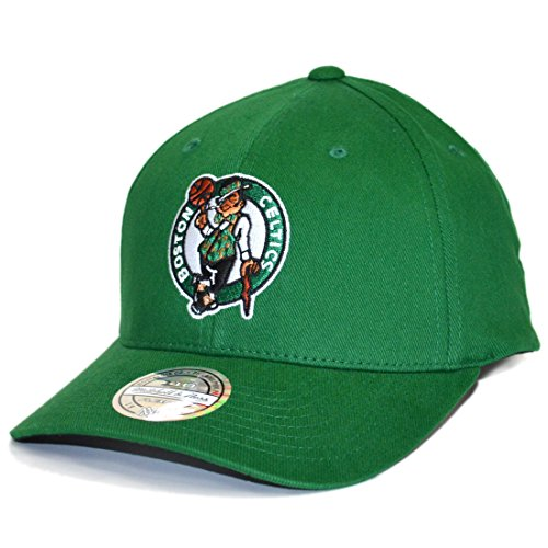 Mitchell & Ness Snapback Cap Team Logo Low Pro 110 Boston Celtics Green Low Pro Cap