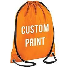 Personalizados Impresión – Cordón Mochila Bolsa Impermeable Gimnasio PE bolsa saco ...