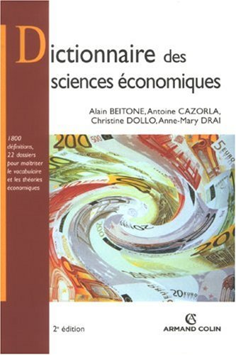 Dictionnaire des sciences conomiques