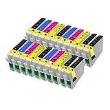 20 Kompatible Tintenpatronen für Epson Stylus B40W BX300F BX310FN BX600FW
