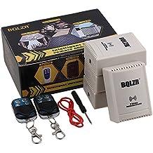 BQLZR 220V 433MHz 1ch RF inching/self-lock modo interruptor de control remoto 4receptor 2emisor y destornillador herramientas de metal clave ABCD