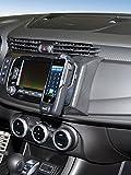 KUDA Telefonkonsole (LHD) für Alfa Romeo Giulietta (Facelift) ab 2016 Kunstleder Schwarz