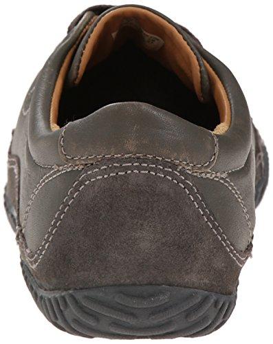 Keen Footwear Scarpe Uomo Hilo Lacci uomo Scarpe Da Ginnastica In Pelle nero grigio (grigio)