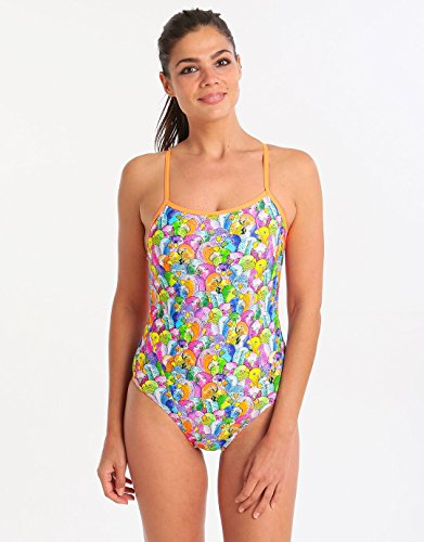 Funkita Bang Bang Budgie Single Strap one piece 36/10