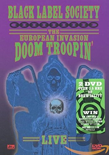 Black Label Society - The European Invasion Doom Troopin' [2 DVDs]