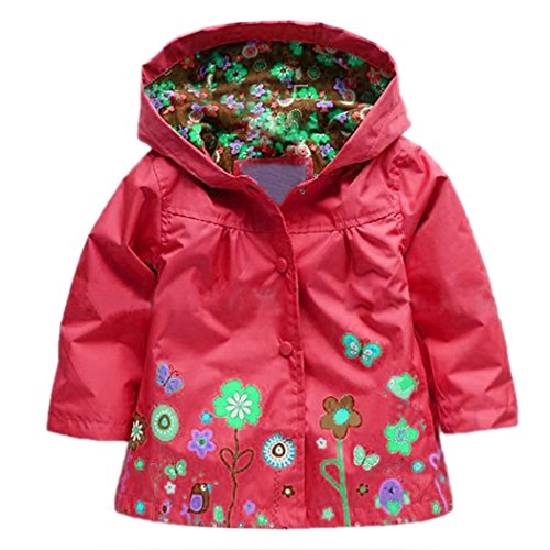 arshiner-little-girls-waterproof-hooded-coat-jacket-outwear-raincoat-size-3-us-red